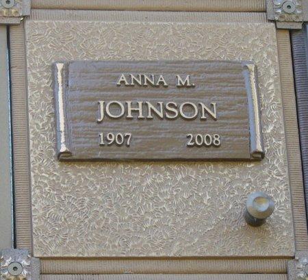 JOHNSON, ANNA M - Marion County, Oregon | ANNA M JOHNSON - Oregon Gravestone Photos