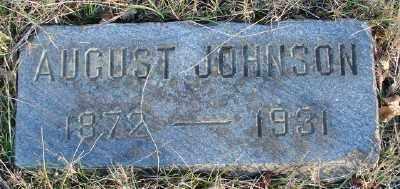 JOHNSON, AUGUST - Marion County, Oregon   AUGUST JOHNSON - Oregon Gravestone Photos