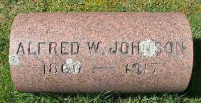 JOHNSON, ALFRED W - Marion County, Oregon | ALFRED W JOHNSON - Oregon Gravestone Photos