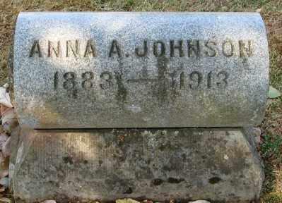 JOHNSON, ANNA A - Marion County, Oregon | ANNA A JOHNSON - Oregon Gravestone Photos