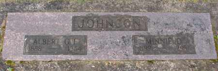 JOHNSON, ALBERT G L - Marion County, Oregon | ALBERT G L JOHNSON - Oregon Gravestone Photos