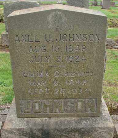JOHNSON, EMMA C - Marion County, Oregon | EMMA C JOHNSON - Oregon Gravestone Photos