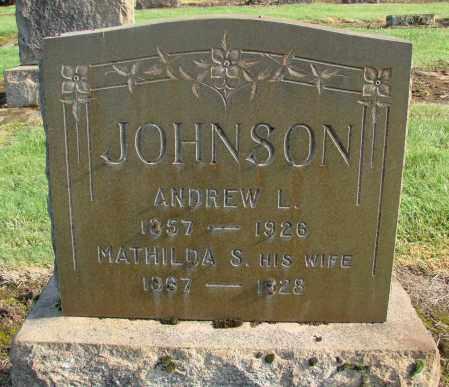JOHNSON, MATHILDA S - Marion County, Oregon | MATHILDA S JOHNSON - Oregon Gravestone Photos