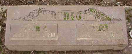 JOHNSON, ALICE - Marion County, Oregon | ALICE JOHNSON - Oregon Gravestone Photos