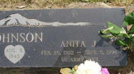 JOHNSON, ANITA J - Marion County, Oregon   ANITA J JOHNSON - Oregon Gravestone Photos