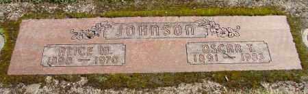 JOHNSON, OSCAR T - Marion County, Oregon | OSCAR T JOHNSON - Oregon Gravestone Photos