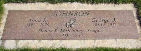 JOHNSON, GEORGE J - Marion County, Oregon | GEORGE J JOHNSON - Oregon Gravestone Photos