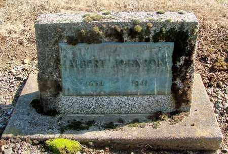 JOHNSON, ALBERT - Marion County, Oregon   ALBERT JOHNSON - Oregon Gravestone Photos