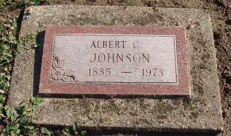 JOHNSON, ALBERT C - Marion County, Oregon | ALBERT C JOHNSON - Oregon Gravestone Photos