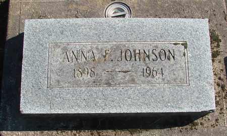 JOHNSON, ANNA E - Marion County, Oregon | ANNA E JOHNSON - Oregon Gravestone Photos