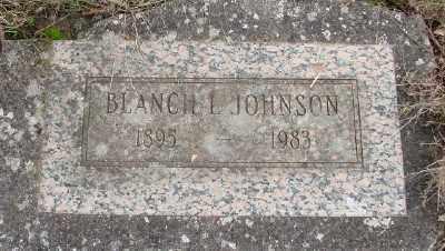 JOHNSON, BLANCHE LOTTIE - Marion County, Oregon | BLANCHE LOTTIE JOHNSON - Oregon Gravestone Photos