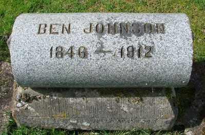 JOHNSON, BEN - Marion County, Oregon | BEN JOHNSON - Oregon Gravestone Photos
