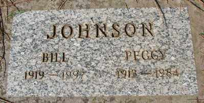 JOHNSON, BILL - Marion County, Oregon | BILL JOHNSON - Oregon Gravestone Photos