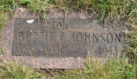 JOHNSON, BEZZIE E - Marion County, Oregon | BEZZIE E JOHNSON - Oregon Gravestone Photos