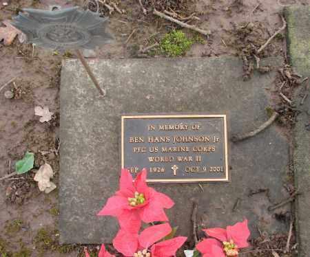 JOHNSON, BEN HANS JR - Marion County, Oregon | BEN HANS JR JOHNSON - Oregon Gravestone Photos