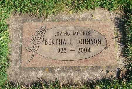JOHNSON, BERTHA LUCILLE - Marion County, Oregon | BERTHA LUCILLE JOHNSON - Oregon Gravestone Photos
