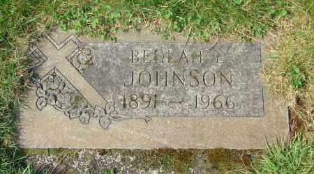 JOHNSON, BEULAH E - Marion County, Oregon | BEULAH E JOHNSON - Oregon Gravestone Photos