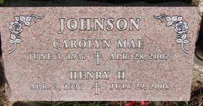 JOHNSON, CAROLYN MAE - Marion County, Oregon | CAROLYN MAE JOHNSON - Oregon Gravestone Photos