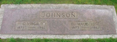 JOHNSON, MAUDE ETHEL - Marion County, Oregon | MAUDE ETHEL JOHNSON - Oregon Gravestone Photos