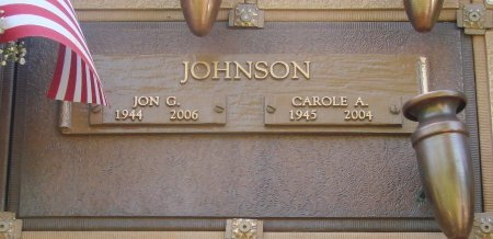 JOHNSON, CAROLE A - Marion County, Oregon | CAROLE A JOHNSON - Oregon Gravestone Photos
