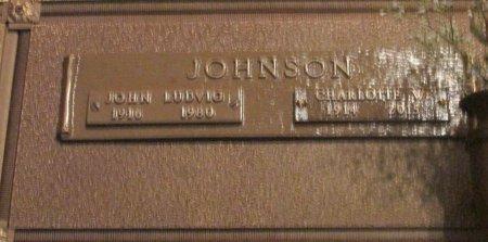 JOHNSON, JOHN LUDWIG - Marion County, Oregon | JOHN LUDWIG JOHNSON - Oregon Gravestone Photos