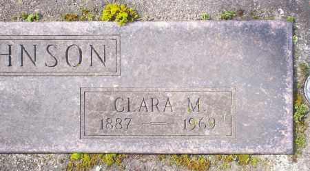 JOHNSON, CLARA M - Marion County, Oregon   CLARA M JOHNSON - Oregon Gravestone Photos
