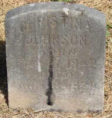 JOHNSON, CHRISTINA - Marion County, Oregon | CHRISTINA JOHNSON - Oregon Gravestone Photos