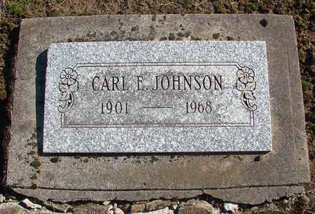 JOHNSON, CARL EDWARD - Marion County, Oregon | CARL EDWARD JOHNSON - Oregon Gravestone Photos