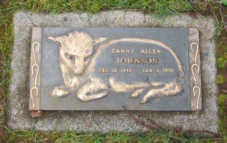 JOHNSON, DANNY ALLEN - Marion County, Oregon   DANNY ALLEN JOHNSON - Oregon Gravestone Photos