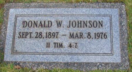JOHNSON, DONALD W - Marion County, Oregon | DONALD W JOHNSON - Oregon Gravestone Photos