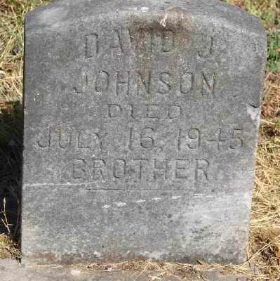 JOHNSON, DAVID J - Marion County, Oregon | DAVID J JOHNSON - Oregon Gravestone Photos