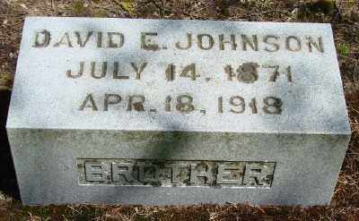 JOHNSON, DAVID E - Marion County, Oregon | DAVID E JOHNSON - Oregon Gravestone Photos