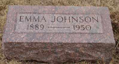 JOHNSON, EMMA - Marion County, Oregon | EMMA JOHNSON - Oregon Gravestone Photos