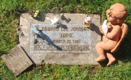 JOHNSON, EDWARD LEE - Marion County, Oregon | EDWARD LEE JOHNSON - Oregon Gravestone Photos