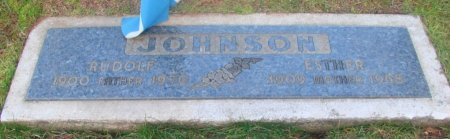 JOHNSON, RUDOLF - Marion County, Oregon | RUDOLF JOHNSON - Oregon Gravestone Photos
