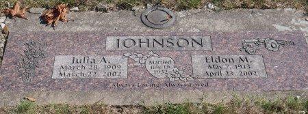 JOHNSON, ELDON M - Marion County, Oregon | ELDON M JOHNSON - Oregon Gravestone Photos