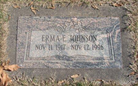 JOHNSON, ERMA EILEEN - Marion County, Oregon | ERMA EILEEN JOHNSON - Oregon Gravestone Photos