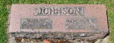 JOHNSON, EARL H - Marion County, Oregon | EARL H JOHNSON - Oregon Gravestone Photos