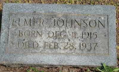 JOHNSON, ELMER O - Marion County, Oregon   ELMER O JOHNSON - Oregon Gravestone Photos
