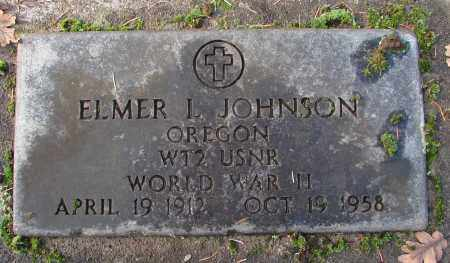 JOHNSON, ELMER L - Marion County, Oregon | ELMER L JOHNSON - Oregon Gravestone Photos