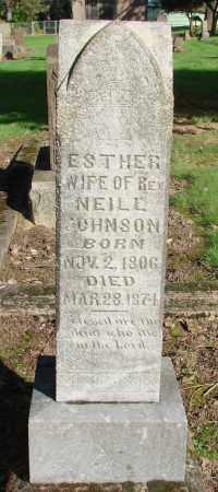 JOHNSON, ESTHER - Marion County, Oregon | ESTHER JOHNSON - Oregon Gravestone Photos