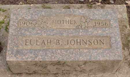 JOHNSON, EULAH B - Marion County, Oregon | EULAH B JOHNSON - Oregon Gravestone Photos