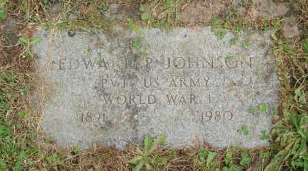 JOHNSON, EDWARD P - Marion County, Oregon | EDWARD P JOHNSON - Oregon Gravestone Photos