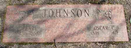JOHNSON, EDNA PEARL - Marion County, Oregon | EDNA PEARL JOHNSON - Oregon Gravestone Photos