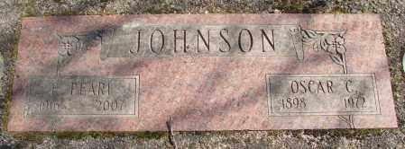 JOHNSON, OSCAR C - Marion County, Oregon | OSCAR C JOHNSON - Oregon Gravestone Photos