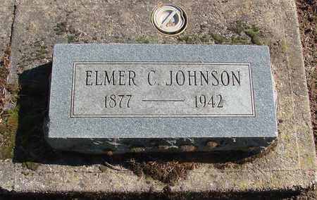 JOHNSON, ELMER C - Marion County, Oregon | ELMER C JOHNSON - Oregon Gravestone Photos