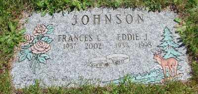 JOHNSON, FRANCES C - Marion County, Oregon | FRANCES C JOHNSON - Oregon Gravestone Photos