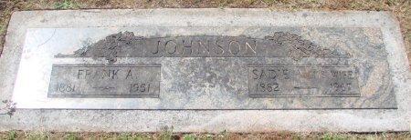 JOHNSON, FRANK ALBERT - Marion County, Oregon | FRANK ALBERT JOHNSON - Oregon Gravestone Photos