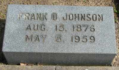 JOHNSON, FRANK O - Marion County, Oregon | FRANK O JOHNSON - Oregon Gravestone Photos
