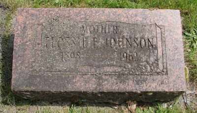JOHNSON, FLOSSIE E - Marion County, Oregon | FLOSSIE E JOHNSON - Oregon Gravestone Photos